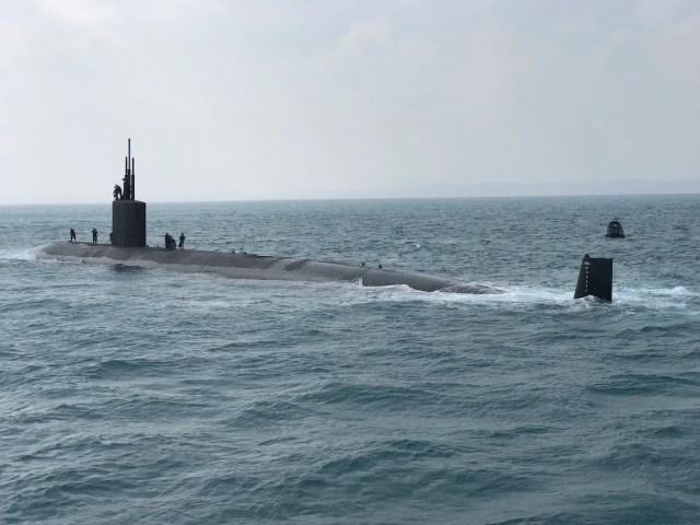 US Navy Los Angeles-class submarine Japan Keen Sword