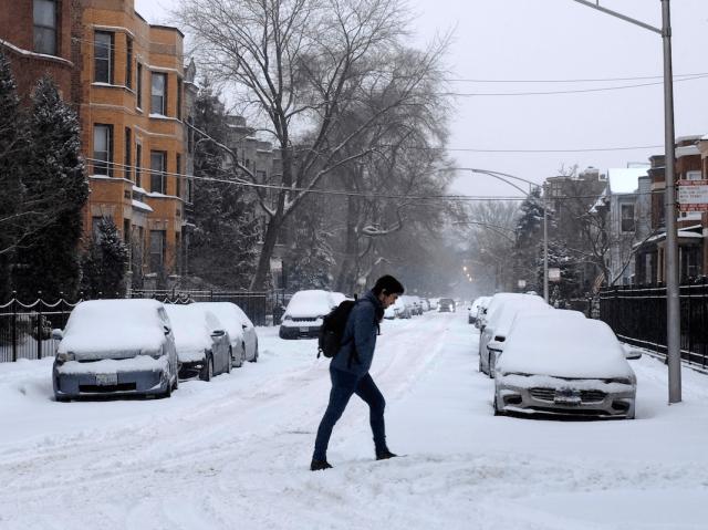 polar vortex chicago commute