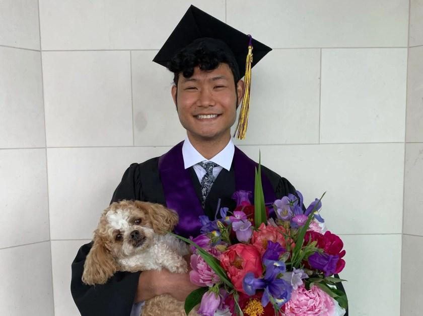 Trey Tamaki, University of Washington graduate