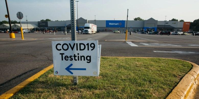 Walmart covid testing