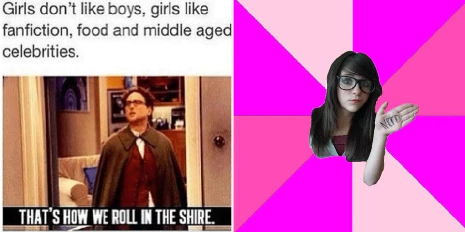 20 Memes Only Geek Girls Will Get Cbr