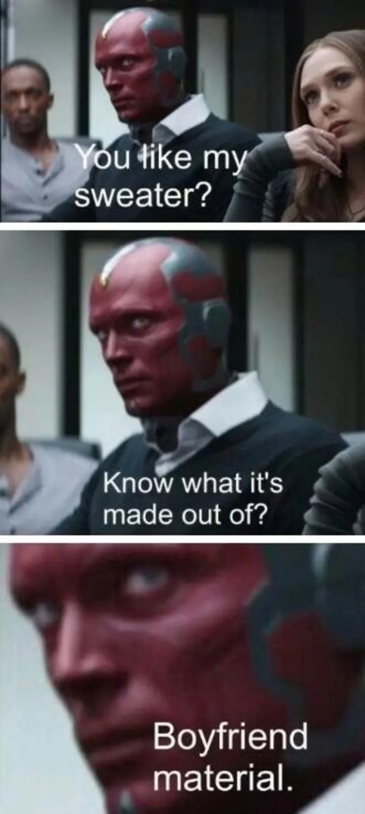 15 Hilariously Dank Vision And Scarlet Witch Memes Cbr