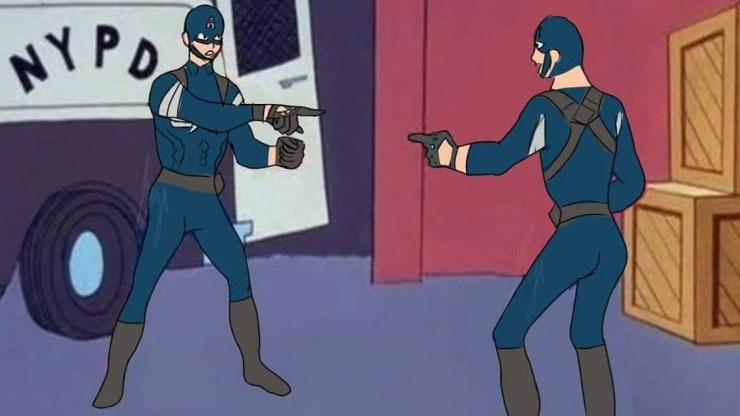 Spiderman Point Meme Maker لم يسبق له مثيل الصور Tier3 Xyz