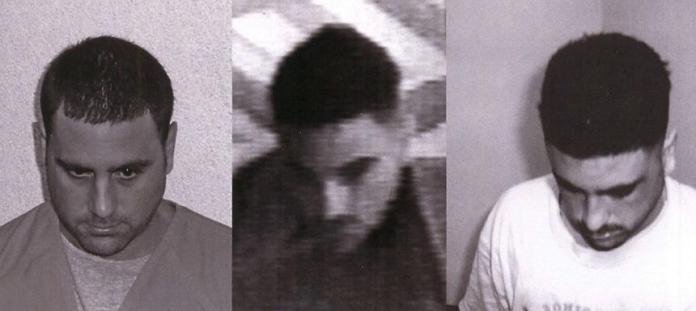 Pablo Ibar y las otras dos personas arrestadas junto a él en 1994.