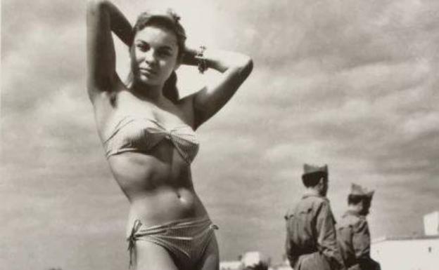 'Monique, first Ibiza bikini', (c.1954)