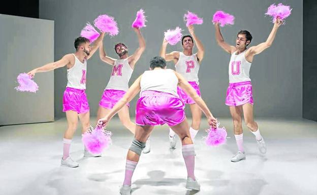Fernando Gallego-Hierro, Pablo Gallego Boutou, Alberto Jo Lee, Juan Paños and Baldo Ruiz are the protagonists of 'Man Up'.