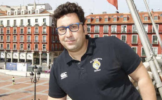 Juan Carlos Pérez, entrenador del club de rugby El Salvador