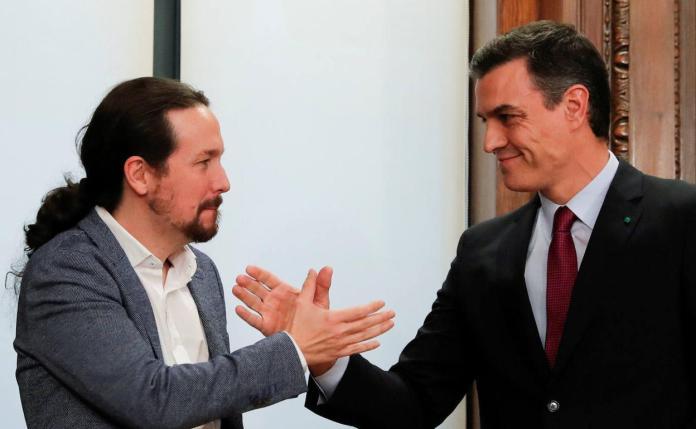 Sánchez blinda la coalición y expresa su máxima confianza en Iglesias | El  Norte de Castilla