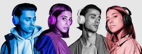 Headphones BT Urban 2 Radio, os auscultadores para ouvir música sem utilizar o telemóvel 2