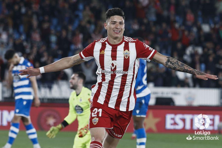 Darwin Núñez: «Sueño con lograr el ascenso con el Almería a la ...