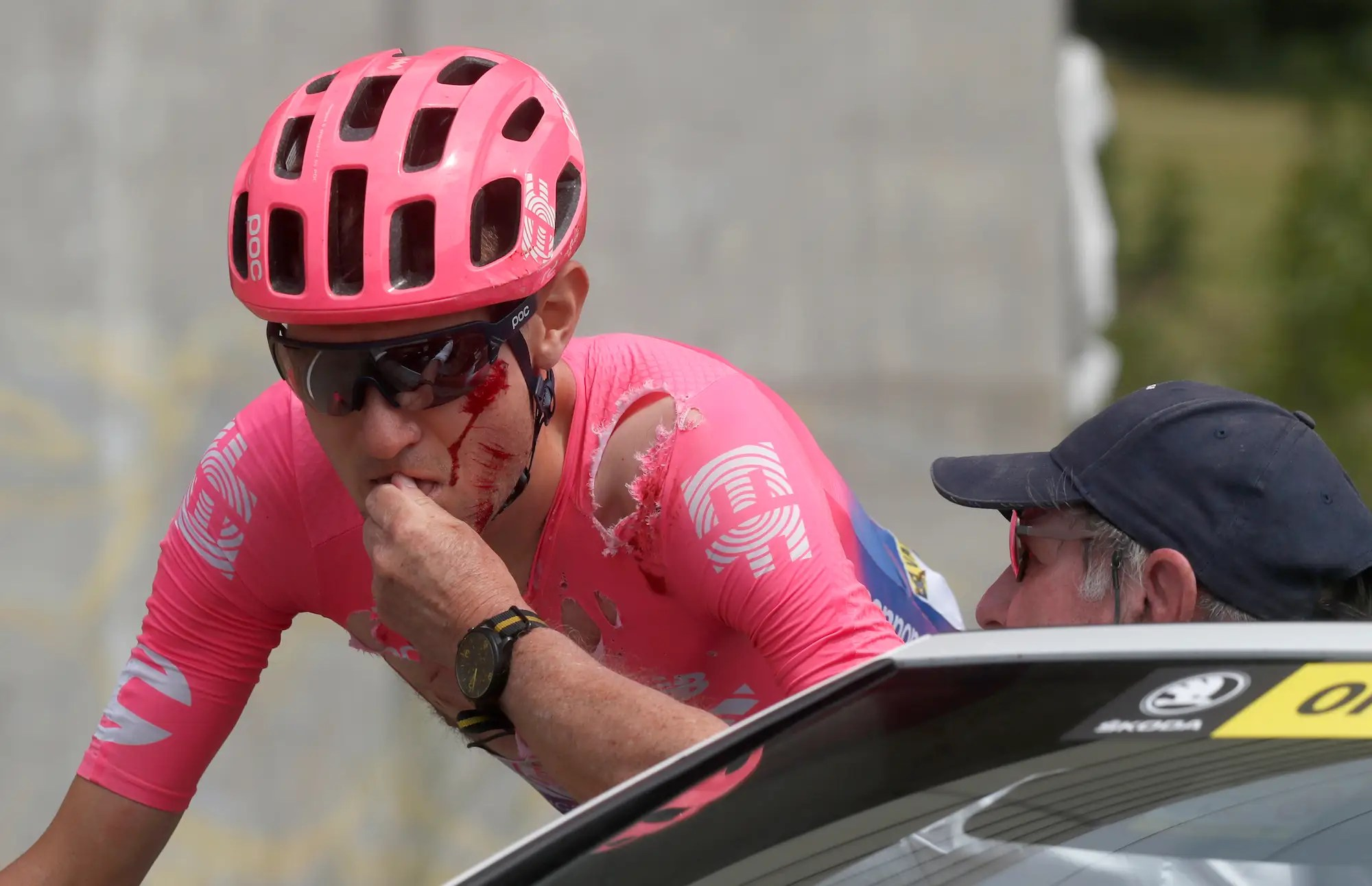 Van Garderen crashes out of Tour de France