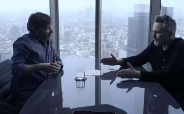 """Miguel Bosé, a Jordi Évole: """"Quítate esa máscara, yo no hablo con gente con mascarilla"""""""