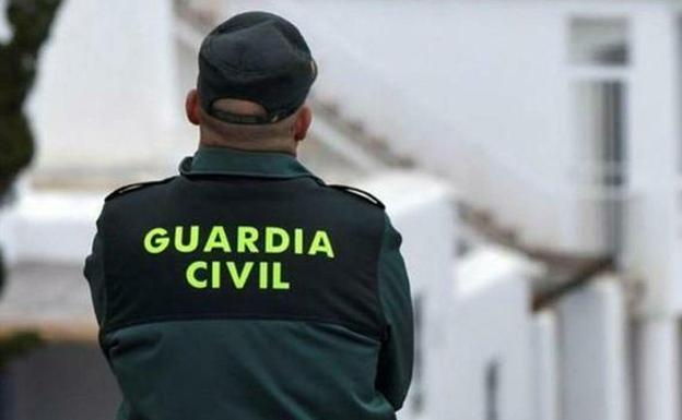 An agent of the Civil Guard, in a file photograph.