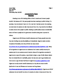 persuasive speech smoking argument outline template college essays argumentative paper argumentative essay smoking gcse english marked by teachers com
