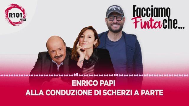 Enrico Papi alla conduzione di Scherzi a parte - R101 Video | Mediaset  Infinity