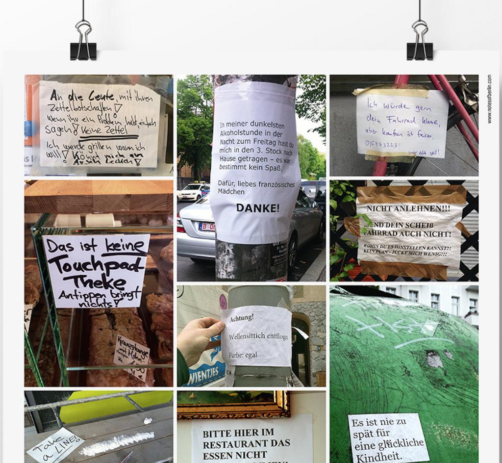 Notes of Berlin Plakat
