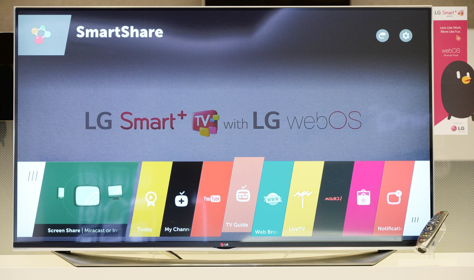 LG Web OS 2.0 smart tv smart tv intimitate