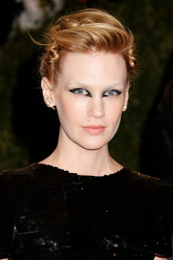 January Jones MET BALL 2013