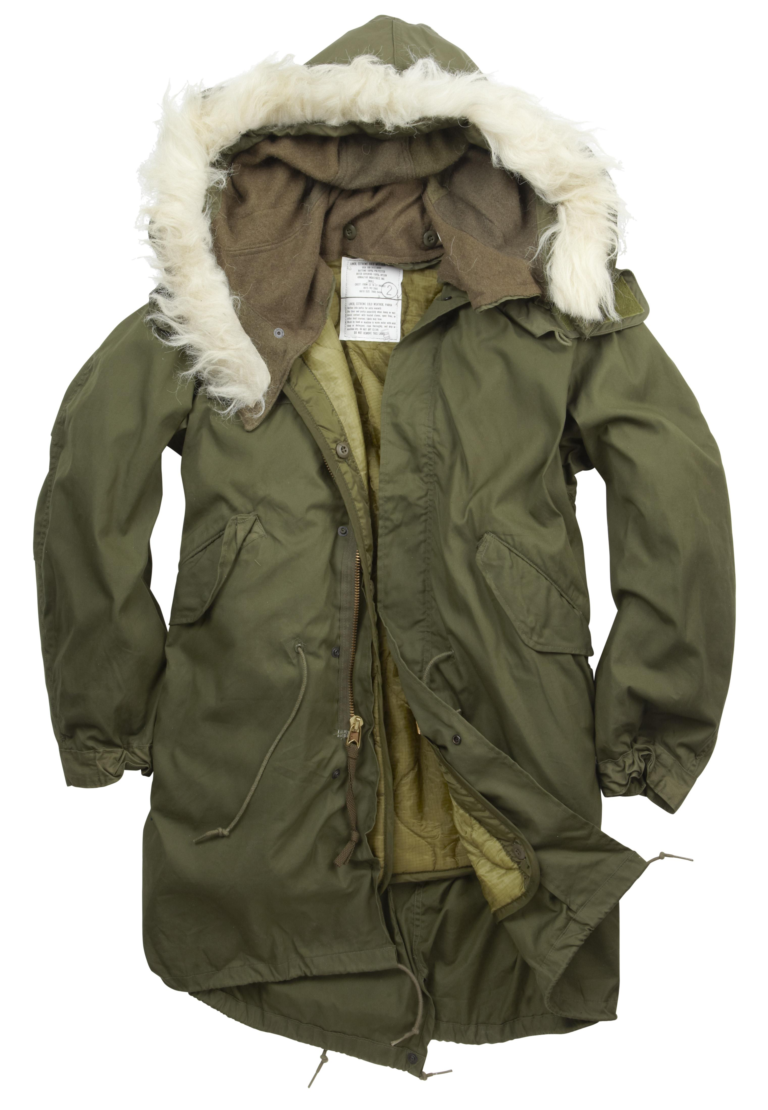 Genuine USA Military M65 Fishtail Parka