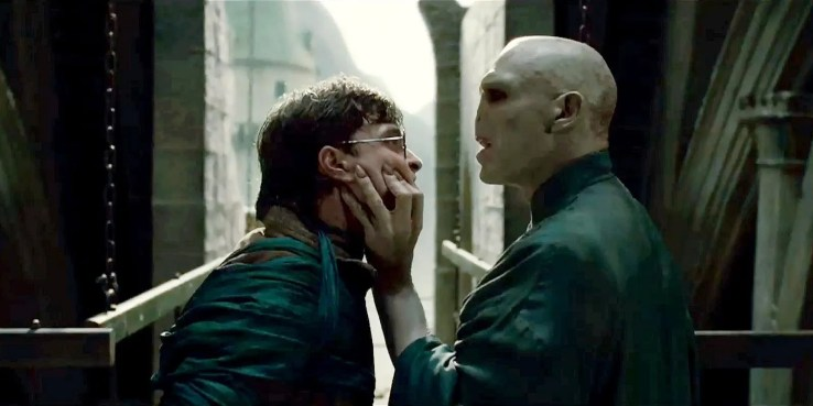 voldelmort y harry potter