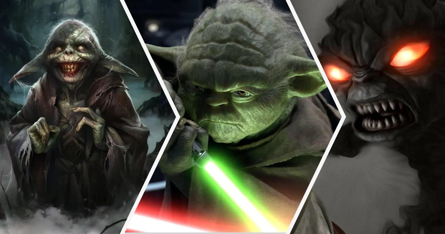 Star Wars 20 Crazy Details About Yoda S Anatomy