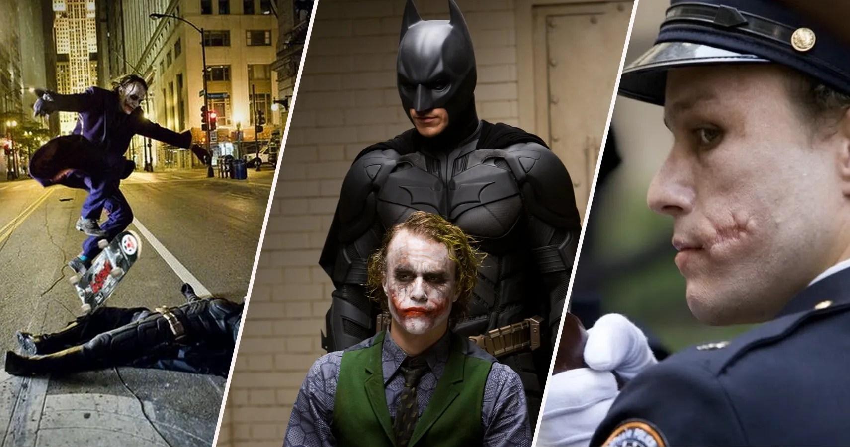 25 Details About Heath Ledger's Joker That Fans Choose To