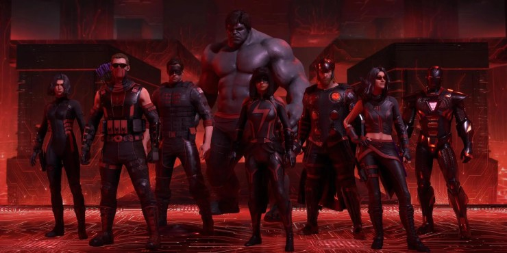 Marvel's Avengers guía Protocolos de Rooskaya Red Room Cuarto Rojo Black Widow