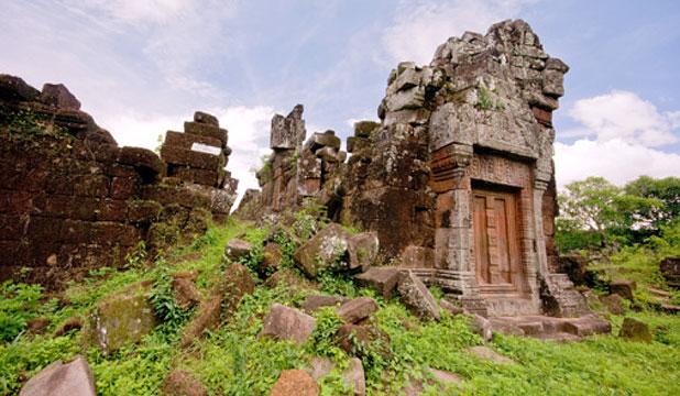 Vat Phou in southern Laos