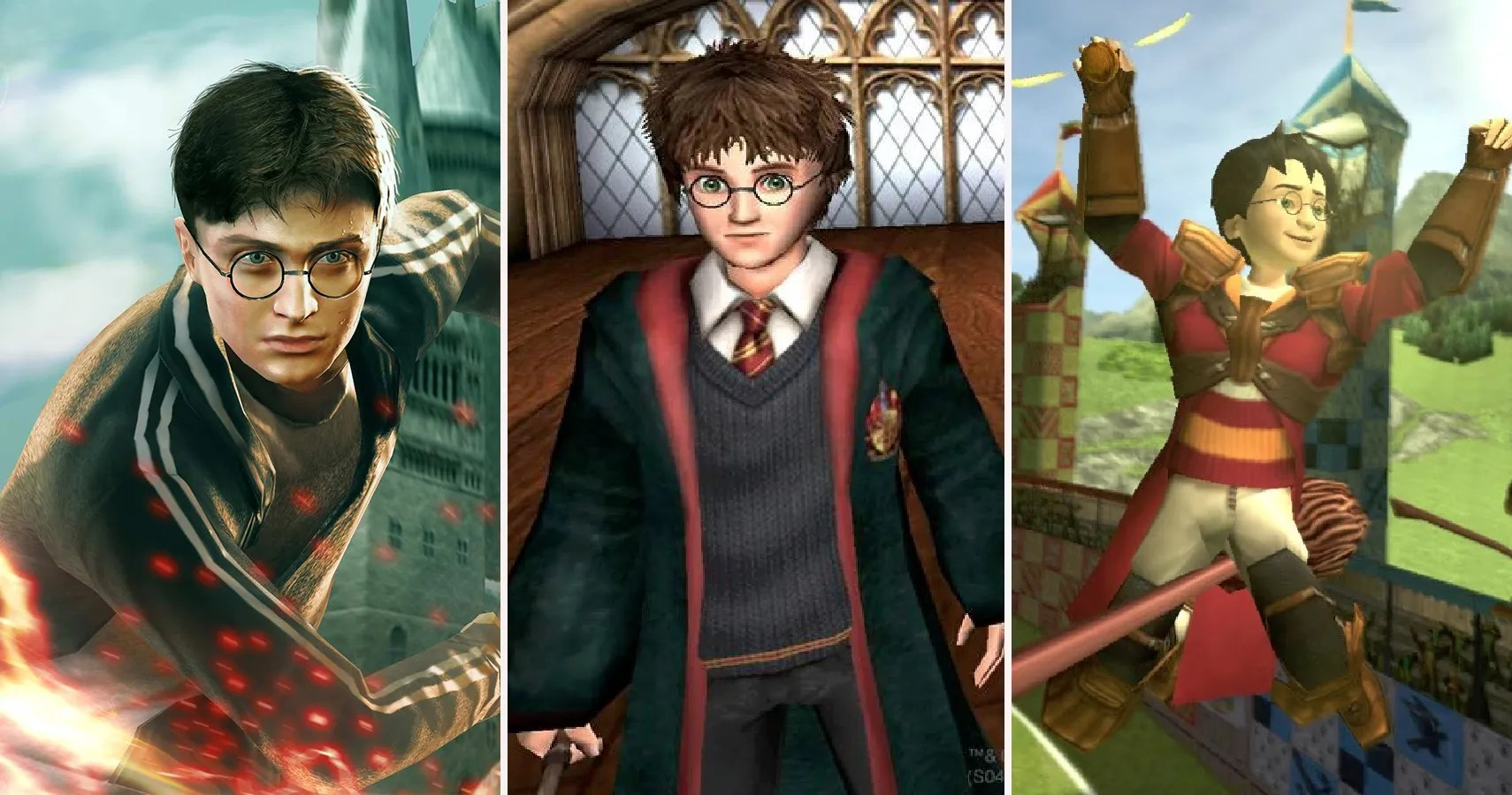 The Best And Worst Harry Potter Games   TheGamer
