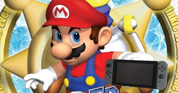 Super Mario Sunshine GC NTSCPAL Rom Download Drive Super