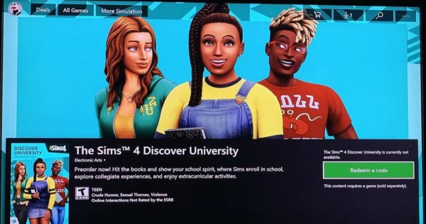Microsoft Store Leaks The Sims 4 University Expansion Pack Description And Artwork