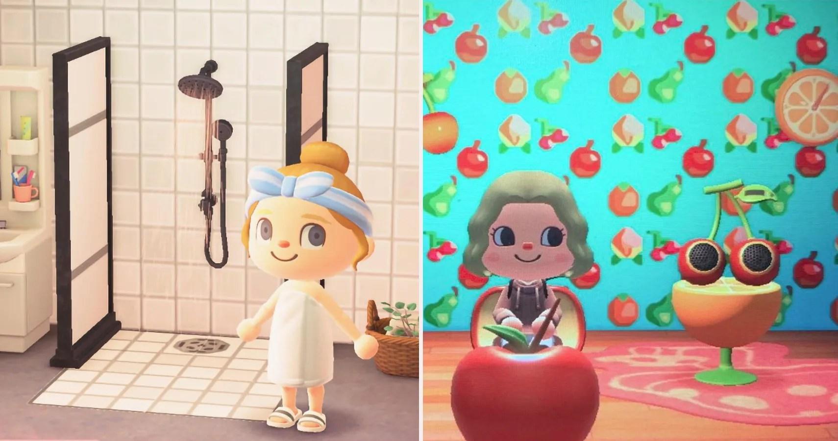 Best Custom Wallpapers In Animal Crossing New Horizons