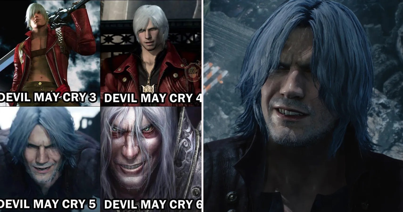 Devil May Cry 5 Vergil Character Analysis Motivations Dmc