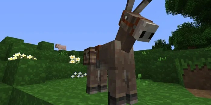 Minecraft How To Breed Horses Thegamer