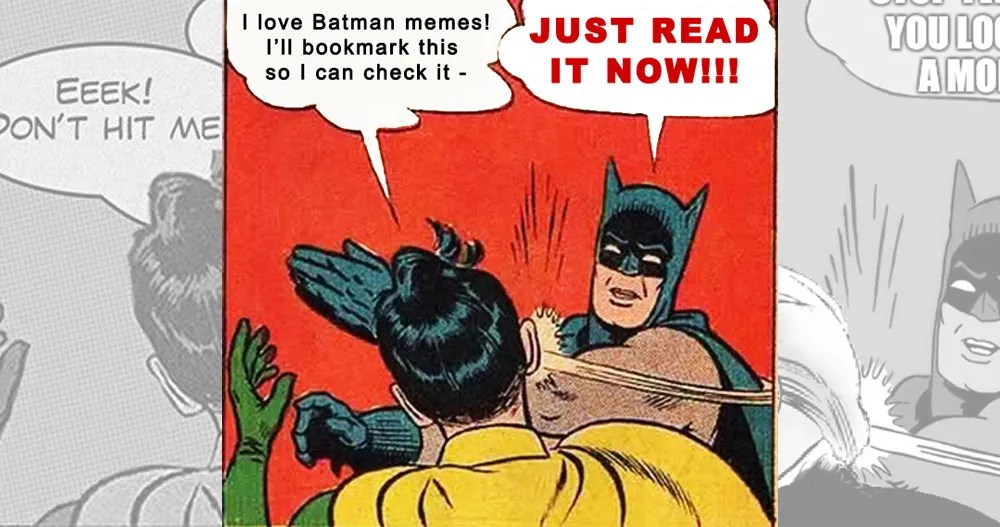 19 Times Batman And Robin Perfectly Summed Up Your Gay Relationship
