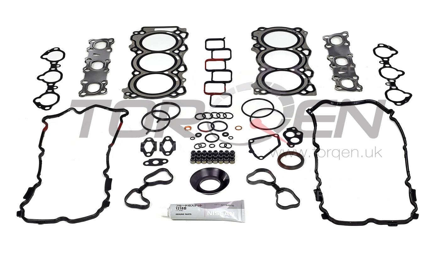350z Hr Nissan Oem Engine Gasket Kit