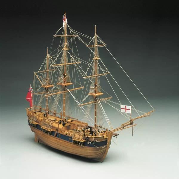 HMS Endeavour hajómakett építőkészlet Mantua