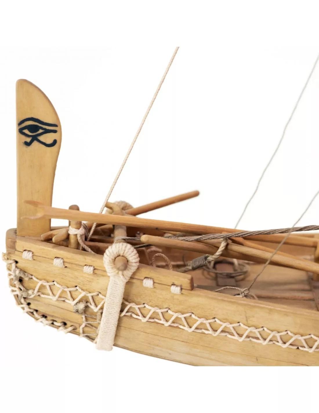 Egyiptomi hajó hajómakett építőkészlet Amati