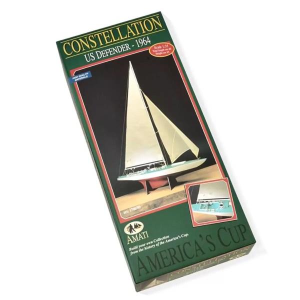 Constellation hajómakett építőkészlet Amati