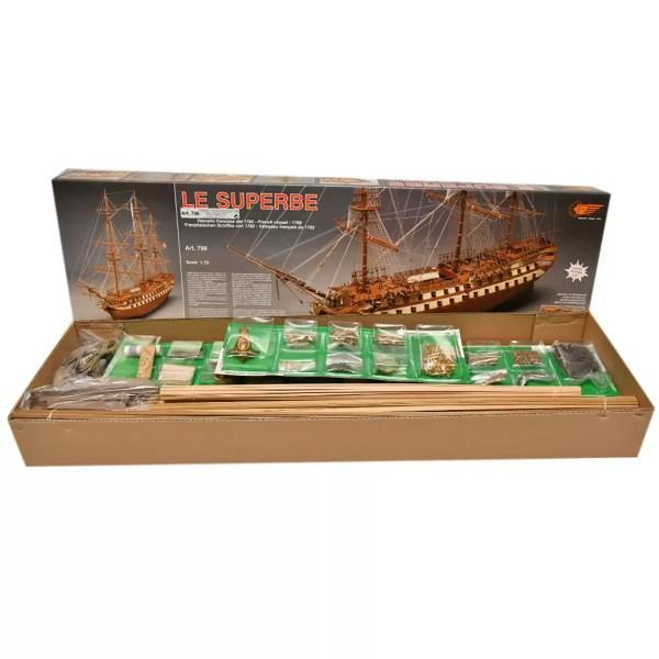Le Superbe hajómakett építőkészlet Mantua