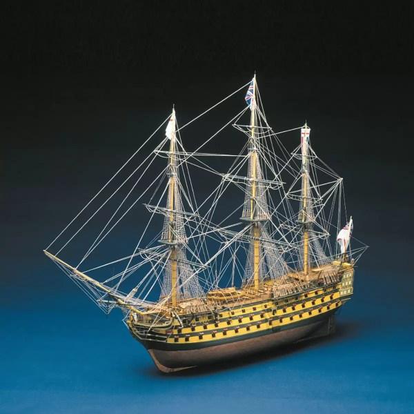 HMS Victory hajómakett építőkészlet Panart