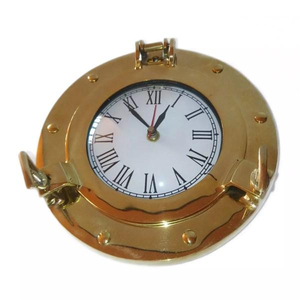 Hajóablak órával 20 cm Óra, falióra