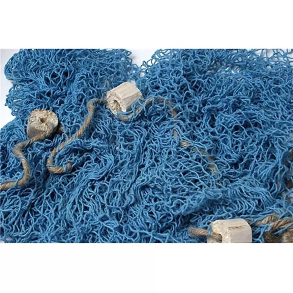 Dekorációs háló 170 x 170 cm kék Dekorációs háló