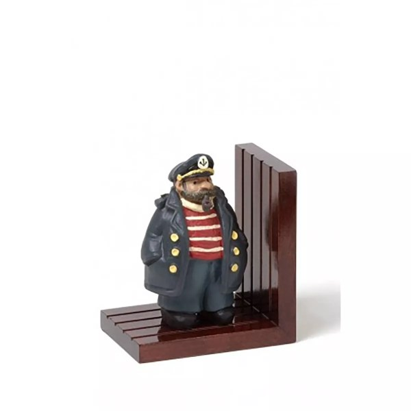 Könyvtámasz kapitány 16,5 cm Könyvtámasz