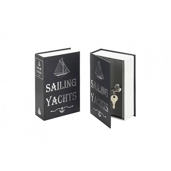 Lemez kazetta Sailing Yacht dizájnnal Kincsesláda, tároló
