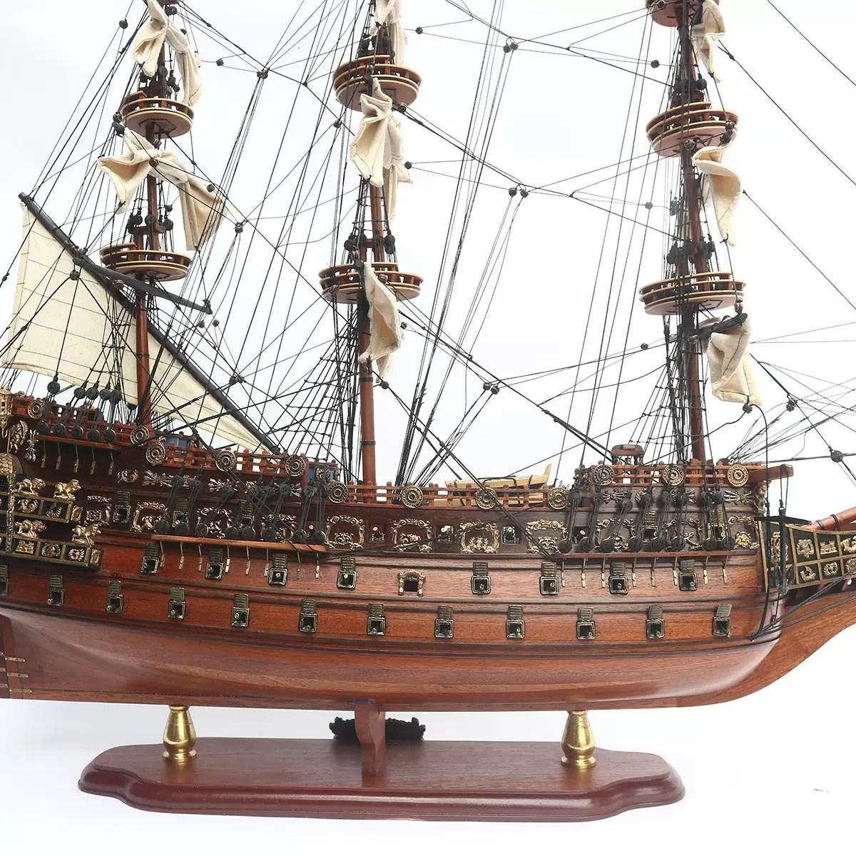 Sovereign of the Seas prémium kiadás Történelmi makett