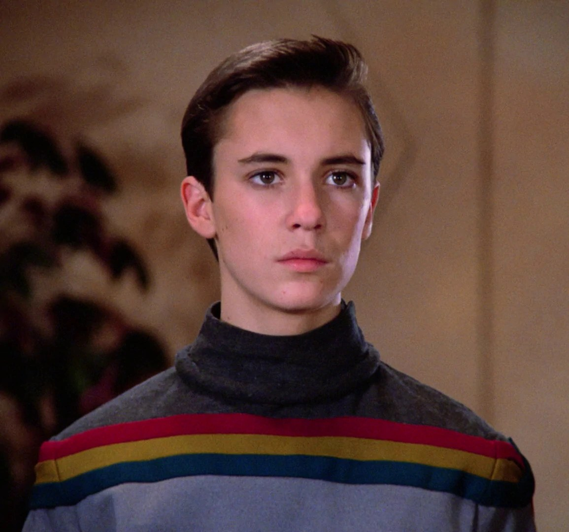 Wil Wheaton sans magnificent beard.