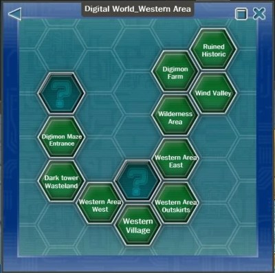 Maps - Digimon Masters Online Wiki - Take a step into the ...