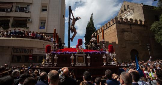 Cristo de la Buena Muerte y la Magdalena, imágenes de Castillo Lastrucci
