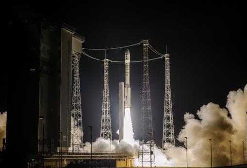 The launch of SEOSAT-Ingenio from the Kourou spaceport in French Guiana